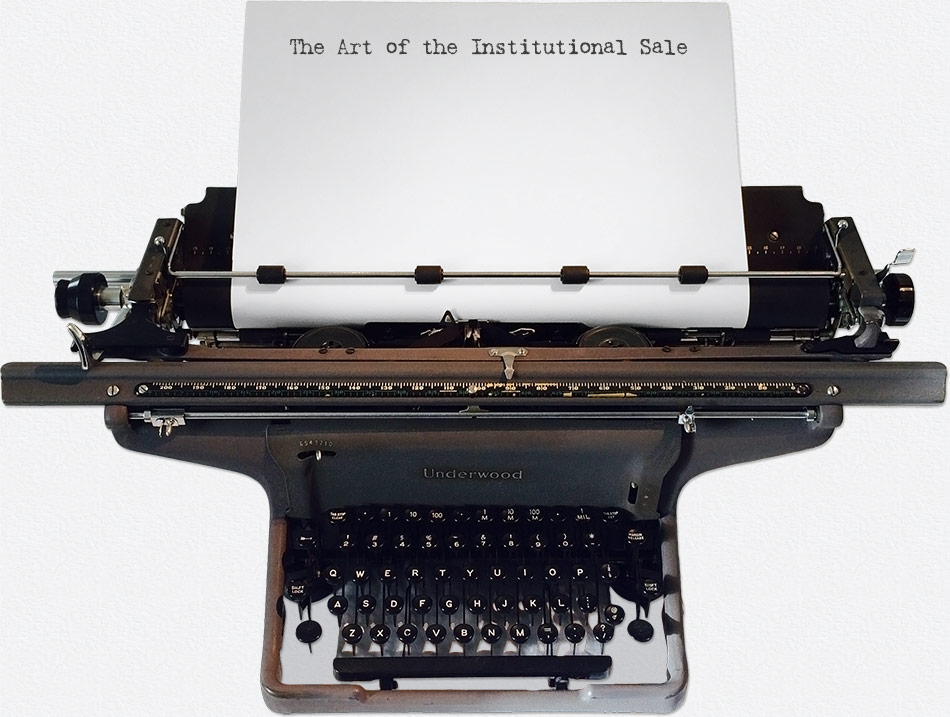 The Art of the Institutional Sale