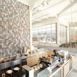 Blue Bottle Coffee/ Heath Ceramics photo