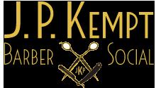 J.P. Kempt Barber & Social logo