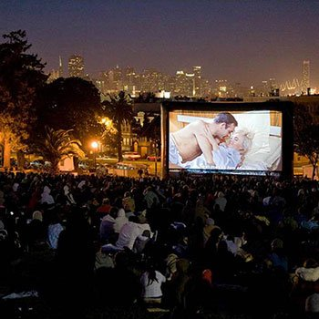 Movie Night in Dolores Park photo
